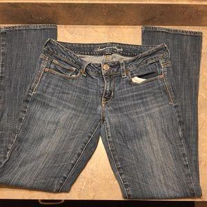 American Eagle jeans SKINNY KICK size 8